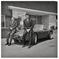 Carroll Shelby ( 1923 - 2012 ) Iconic car builder and champion auto racer best known for his Shelby Cobra sports cars.