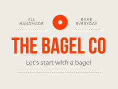 Bagel designed by Marco de Tomaso. Connect with them on Dribbble; Bagel Brands, Bagel Factory, Waffle Cones, Bagels, Catering, Identity, Mad, Branding, Let It Be