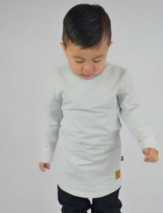 NATION X THREADS LONG SLEEVE TEE FOG GREY – Baby Divine Boy Models, Girl Model, Gender Neutral, Long Sleeve Tees, Outfit, Grey, Sleeves, Inspiration, Style