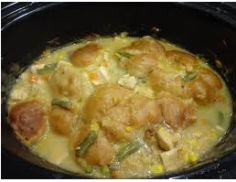 Crockpot Chicken and Biscuits Recipe