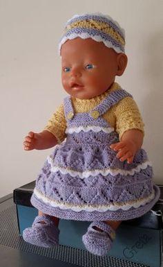 zelf gemaakt voor mijn pop:Baby Born-43cm-lila-geel