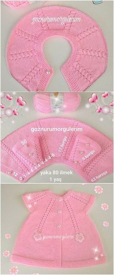Full 12 Pieces Knit Baby Vest Model with Illustrated Expression - Babykleidung Knitting For Kids, Baby Knitting Patterns, Baby Patterns, Knit Baby Dress, Bebe Baby, Baby Sweaters, Baby Booties, Baby Hats, Crochet Baby