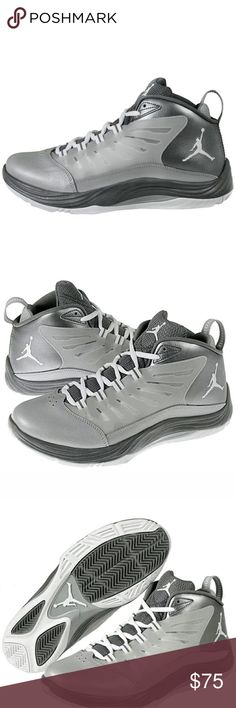 Nike Men's Jordan Prime Fly Basketball Shoes 12.5 Style Number:654287 Description: Nike Men's Jordan Prime.Fly 2 Sneaker is the perfect combination of leather and synthetic. A Nike Zoom unit is in the forefoot for lightweight, responsive cushioning and a low-profile feel. The webbed lacing system wraps the foot for a locked-down fit, and the internal 3/4 length mesh bootie adds for ventilation and a snug, comfortable fit.  The padded heel notch adds comfort and reduces slippage for a great…