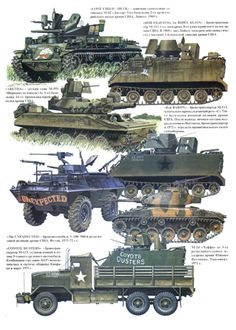 US Vietnam War Armored Vehicles