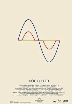 poster dogtooth - Google Search