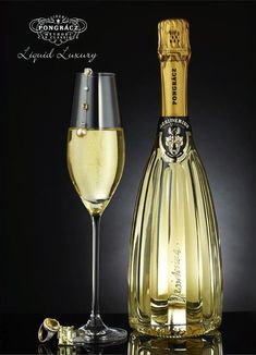 What a beautiful bottle! This is a sparkling wine with an incredible bottle. PD