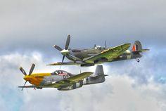 Mustang & Spitfire
