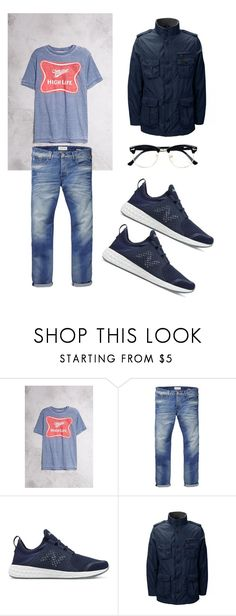 """Dior's set 😎"" by kingdiorx1 ❤ liked on Polyvore featuring 21 Men, Scotch & Soda, New Balance, Lands' End and Topman"