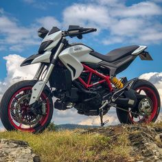 Ducati Hypermotard - Ducati Motor Holding S. Triumph Motorcycles, Ducati Motorbike, Cars And Motorcycles, Motocross, Motorcross Bike, Ducati Custom, Custom Bikes, Moto Bike, Motorcycle Bike