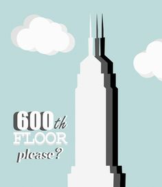 """600th floor please?"""