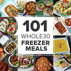 50 Freezable Whole30 Recipes | Once A Month Meals