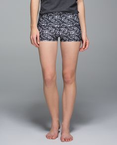 Sequin patterned yoga shorts. Does this qualify as a need?