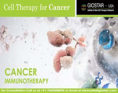 #Cancer #Immunotherapy in #India  http://www.giostar.com/Therapy/cancer/