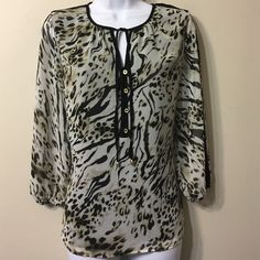 CALVIN KLEIN Top,Size XS fits to S too NWOT,fully lined Calvin Klein Tops Blouses