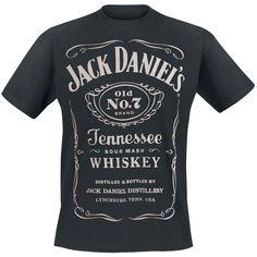 Old No. 7 - T-Shirt van Jack Daniel's - Artikelnummer: 260288 - vanaf 19,99 € - Large Popmerchandising