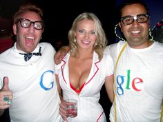 Google culture. The guy on the right is Senior Vice President of Engineering.
