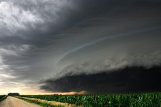 Shelf cloud..