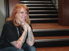 Stacie-Rae Weir, Sacred Space/ Hope Eternal Areola Reconstructive Tattoo. Calgary, Alberta, Canada. http://stacie-rae.com/ [p-ink.org]
