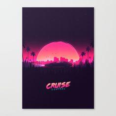 Cruise Control Canvas Print