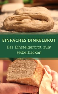 The spelled bread is a delicious bread that is baked exclusively with spelled flour . - The spelled bread is a delicious bread that is only baked with spelled flour. Cheese Recipes, Bread Recipes, Whole Food Recipes, Cake Recipes, Un Cake, Gateaux Cake, Vegan Bread, Complete Recipe, Dough Recipe