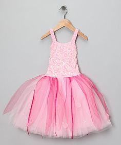 Pink Twinkle Dress - Toddler & Girls by Fairy Dreams #zulilyfinds