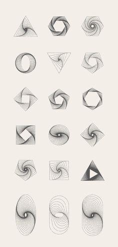 MASSIVE GEOMETRY BUNDLE +250 geometric items for sale