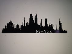 New york city wall vinil