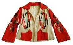 Great Vintage 1940's Chimayo Jacket Hand Woven | eBay
