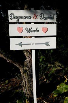 drogowskaz ślubny   #ślub #wesele #drogowskaz #drewno