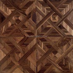 Engineered walnut parquet panel | Urbane Living