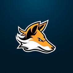 Fox esport gaming mascot logo design Vector Premium Pet Logo, Sheep Logo, Game Wallpaper Iphone, Bike Stickers, Youtube Logo, Game Logo Design, Esports Logo, Mundo Comic, Mascot Design