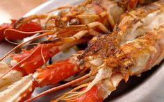 Grilled crayfish, or langoustines, fresh from the clean Atlantic waters, are found on menus in tapas bars and restaurants.