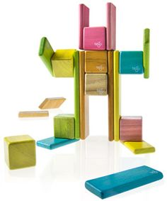 I absolutely love these, but only buy a small set at a time because they're so expensive! Tegu Magnetic Blocks