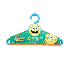 SpongeBob SquarePants Kids Hangers @ niftywarehouse.com #NiftyWarehouse #Spongebob #SpongebobSquarepants #Cartoon #TV #Show