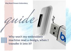 Why won't my embroidery machine read a design Types Of Embroidery, Machine Embroidery Designs, Embroidery Machines, Filing System, Janome, Cross Stitch, Reading, Blog, Software