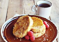 Crispy french toast recipe from A Beautiful Mess.