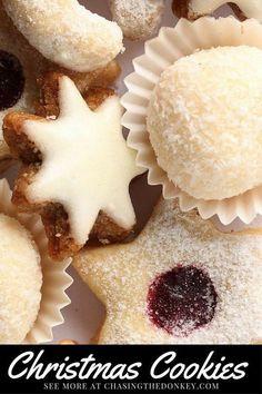 Croatian Recipes Christmas Cookies Two Ways. Here are two of my favorite Croatian Christmas cookies. We hope you like them. Croatia Travel Blog - Chasing the Donkey