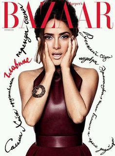 Harper's Bazaar Russia 2014   Salma Hayek    Xavi Gordo