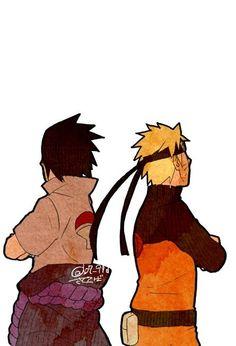 Naruto e Sasuke Naruto And Sasuke, Naruto Uzumaki, Boruto, Narusasu, Sasunaru, Fanart, Wattpad, Team 7, Anime