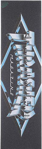 "MOB Thrasher Flame Logo Laser Cut Griptape 9"""" X 33"""""