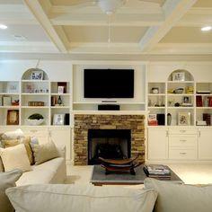 1000 images about basement on pinterest basements long for Long narrow basement design solution