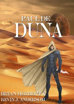 My book cover alternative to Paul of Dune.