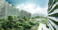"""Group8asia Selected to Realize """"Verdant Urban Oasis"""" in Singapore"""