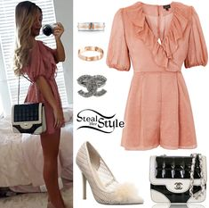 Outfits steal her style vintage glam outfits, school outfits, summer outfit Lydia Martin, Girly Outfits, Chic Outfits, Steal Her Style, Gabriella Demartino, Woman Meme, Looks Style, Ladies Dress Design, Look Fashion