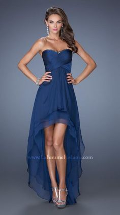 Shop La Femme evening gowns and prom dresses at Simply Dresses. Designer prom gowns, celebrity dresses, graduation and homecoming party dresses. A Line Prom Dresses, Homecoming Dresses, Strapless Dress Formal, Formal Dresses, Wedding Dresses, Dress Prom, Dresses 2014, Long Dresses, Dress Long