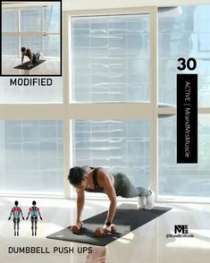 Home workout to lose weight fast Hiit Workouts Fat Burning, Full Body Hiit Workout, Hiit Workout At Home, Workout To Lose Weight Fast, Easy Workouts, Workout Videos, At Home Workouts, Daily Exercise Routines, Workout Challenge