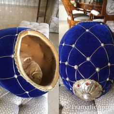 Luxury cat bed idea.