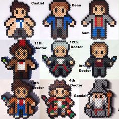 All your favourite screen characters in one place!  The listing is for any 3 figures. Let me know on checkout which ones you would like. Gizmo, Slimer and Jack Burton? No problem Castiel, Tenth Doctor and Gandalf? Sure 3 Robocops? Why not? For 6 please select 2 in the quantity tab, for 9 please select 3 etc The characters are listed below ~ more coming soon... If you want to combine them with some Marvel or animated characters, Im happy to do so....  If you are interested in a large amount…
