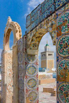 Zaitouna Mosque, Tunis, Tunisia