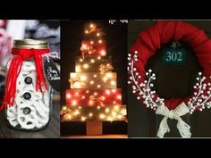 15 diy projects for christmas & winter! Christmas Wreaths, Christmas Crafts, Xmas, Christmas Ornaments, Christmas Goodies, Diy For Teens, Crafts For Teens, Adult Crafts, Easy Crafts